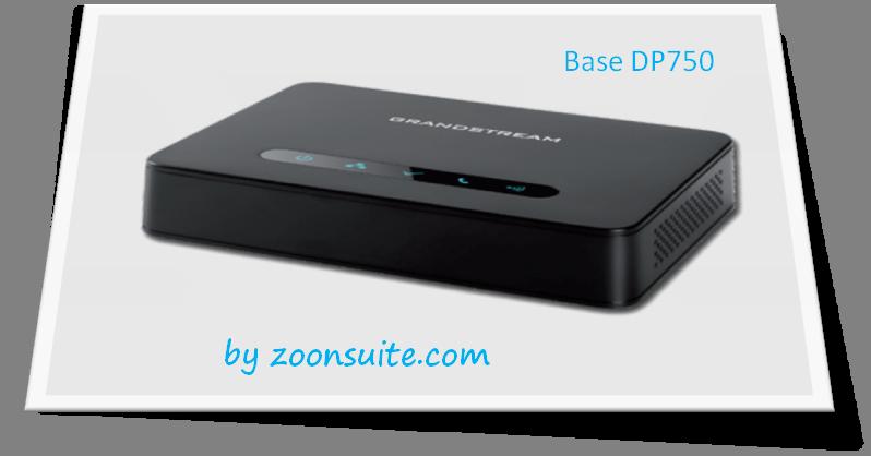 Teléfono IP Grandstream DP 720 0