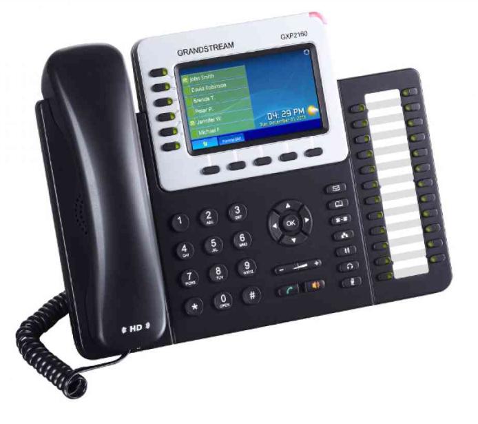 Teléfono IP Grandstream GXP 2160 0