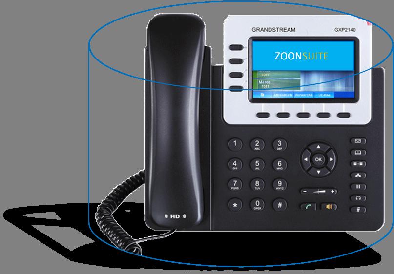 Teléfono IP Grandstream GXP 2140 0