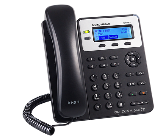 Teléfono IP Grandstream GXP 1620 0